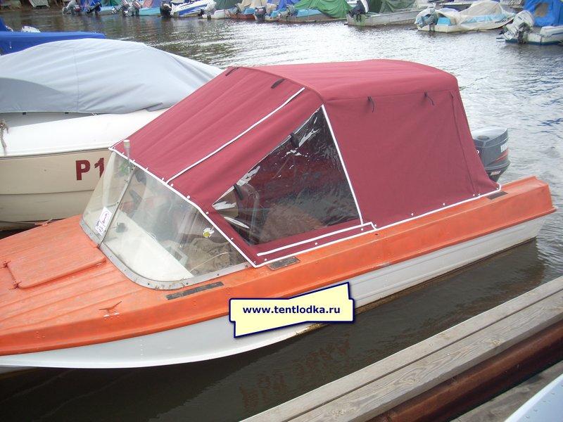 производство тентов на моторные лодки